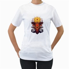 Eyedeer Women s T Shirt (white)  by Contest1920010