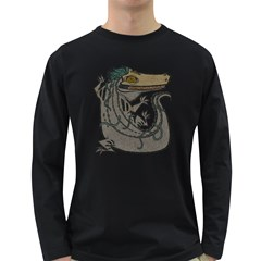 Miwitu The Crocodile Men s Long Sleeve T-shirt (dark Colored) by Contest1920010