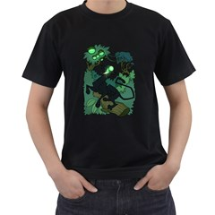 Acid Panther With Berries Men s T Shirt (black)