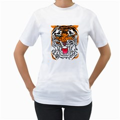 Tiger  Women s T-shirt (white)