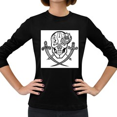 Hoist The Colours! Women s Long Sleeve T Shirt (dark Colored) by Contest1918014