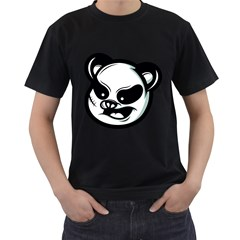 Badass Panda Men s T Shirt (black)