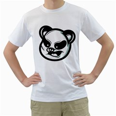 Badass Panda Men s T-shirt (white)  by Contest1915162