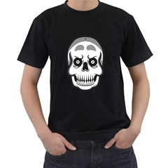 Skull Smile Men s T-shirt (black) by Contest1915162