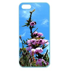 Pink Flower Apple Seamless Iphone 5 Case (color) by Rbrendes
