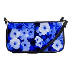 Blue Flowers Evening Bag by Rbrendes