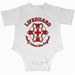 Lifeguard Amity Island Infant Bodysuit Front