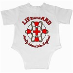 Lifeguard Amity Island Infant Bodysuit Back