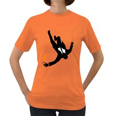 Don Don t Jump! Women s T Shirt (colored) by chivieridesigns