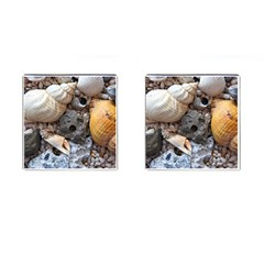 Beach Treasures Cufflinks (square) by StuffOrSomething