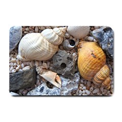 Beach Treasures Small Door Mat by StuffOrSomething
