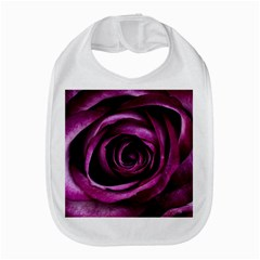 Deep Purple Rose Bib by Colorfulart23