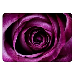 Deep Purple Rose Samsung Galaxy Tab 8 9  P7300 Flip Case by Colorfulart23
