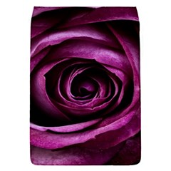 Deep Purple Rose Removable Flap Cover (small) by Colorfulart23