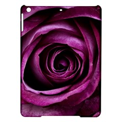 Deep Purple Rose Apple Ipad Air Hardshell Case by Colorfulart23