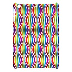Rainbow Waves Apple Ipad Mini Hardshell Case by Colorfulplayground