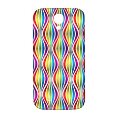 Rainbow Waves Samsung Galaxy S4 I9500/i9505  Hardshell Back Case