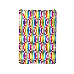Rainbow Waves Apple Ipad Mini 2 Hardshell Case by Colorfulplayground