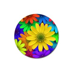 Gerbera Daisies Magnet 3  (round) by StuffOrSomething