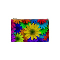 Gerbera Daisies Cosmetic Bag (small) by StuffOrSomething