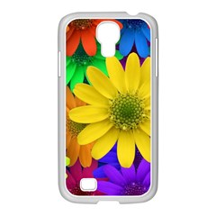 Gerbera Daisies Samsung Galaxy S4 I9500/ I9505 Case (white) by StuffOrSomething