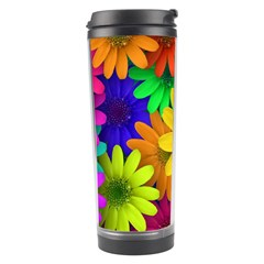 Gerbera Daisies Travel Tumbler by StuffOrSomething