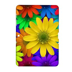 Gerbera Daisies Samsung Galaxy Tab 2 (10 1 ) P5100 Hardshell Case  by StuffOrSomething