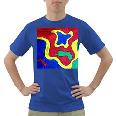Abstract Men s T-shirt (colored) by Siebenhuehner