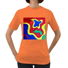Abstract Women s T-shirt (colored) by Siebenhuehner