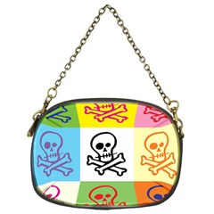 Skull Chain Purse (one Side) by Siebenhuehner