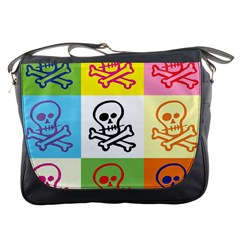 Skull Messenger Bag by Siebenhuehner