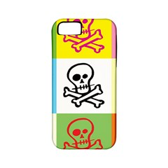 Skull Apple Iphone 5 Classic Hardshell Case (pc+silicone) by Siebenhuehner