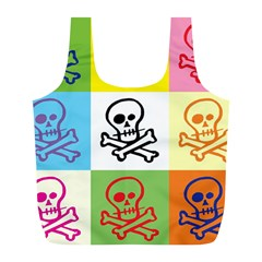 Skull Reusable Bag (l) by Siebenhuehner