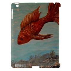 Gold Fish Apple Ipad 3/4 Hardshell Case (compatible With Smart Cover) by rokinronda
