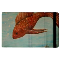 Gold Fish Apple Ipad 3/4 Flip Case by rokinronda