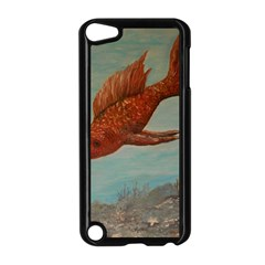 Gold Fish Apple Ipod Touch 5 Case (black) by rokinronda