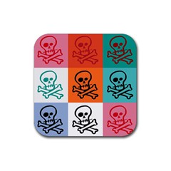 Skull Drink Coasters 4 Pack (square) by Siebenhuehner