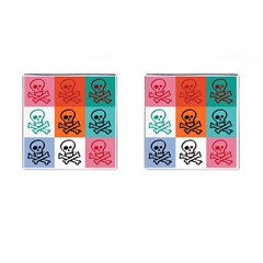 Skull Cufflinks (square) by Siebenhuehner