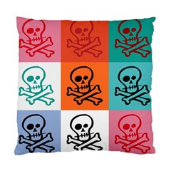 Skull Cushion Case (two Sided)  by Siebenhuehner