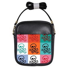 Skull Girl s Sling Bag by Siebenhuehner