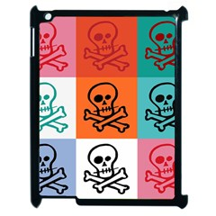 Skull Apple Ipad 2 Case (black) by Siebenhuehner