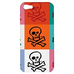 Skull Apple Iphone 5 Hardshell Case by Siebenhuehner