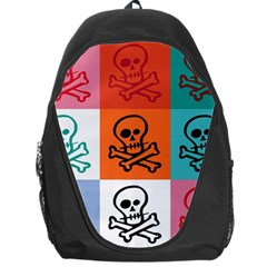 Skull Backpack Bag by Siebenhuehner