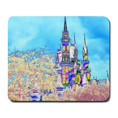 Castle For A Princess Large Mouse Pad (rectangle) by rokinronda