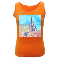 Castle For A Princess Women s Tank Top (dark Colored) by rokinronda