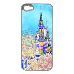 Castle For A Princess Apple Iphone 5 Case (silver) by rokinronda