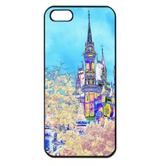 Castle For A Princess Apple Iphone 5 Seamless Case (black) by rokinronda