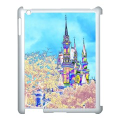 Castle For A Princess Apple Ipad 3/4 Case (white) by rokinronda
