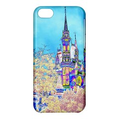 Castle For A Princess Apple Iphone 5c Hardshell Case by rokinronda