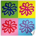 Flower Canvas 12  x 12  (Unframed) 12 x12 Canvas - 1